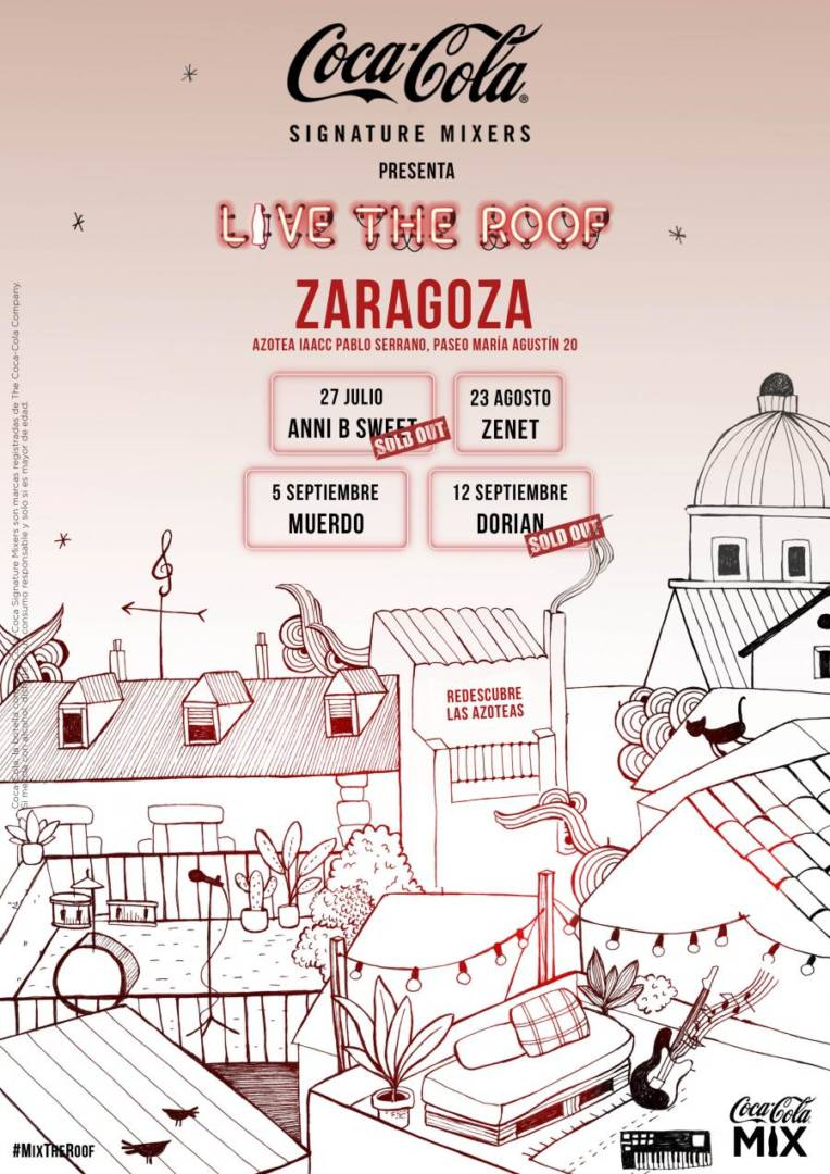 live the roof zaragoza agenda eventos