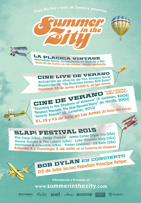 Summer In The City agenda zaragoza eventos que hacer