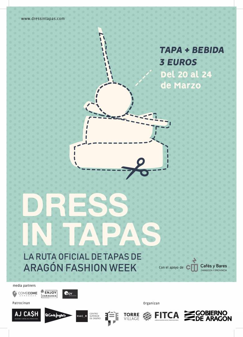 dress in tapas aragon fashion week que hacer en zaragoza